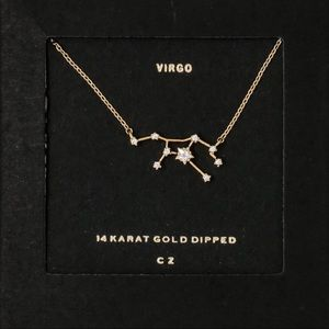 VIRGO | Constellation Zodiac Dainty Necklace